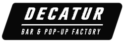 Decatur Bar and Pop Up Factory logo