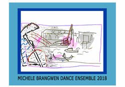 Michele Brangwen Dance Ensemble Logo