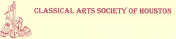 Classical Art Society Houston logo