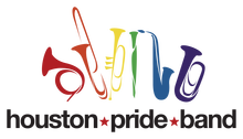 Houston Pride Band Logo