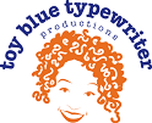 Toy Blue Typewriter Productions logo
