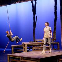 Main Street Theater - Bridge to Terabithia - rope swing