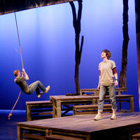 Main Street Theater - Bridge to Terabithia - rope swing