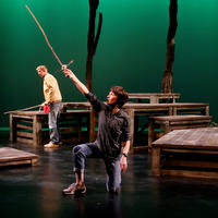Main Street Theater - Bridge to Terabithia - sword